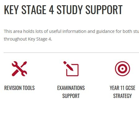 Key Stage 4 Study Support